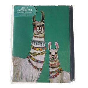 Other - Boho Llamas set of 2 journals